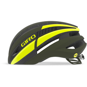 Giro Synthe MIPS Casque, matte olive/citron